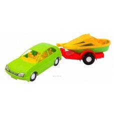 Авто-купе с прицепом 39002